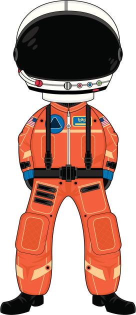 Spaceman in Helmet