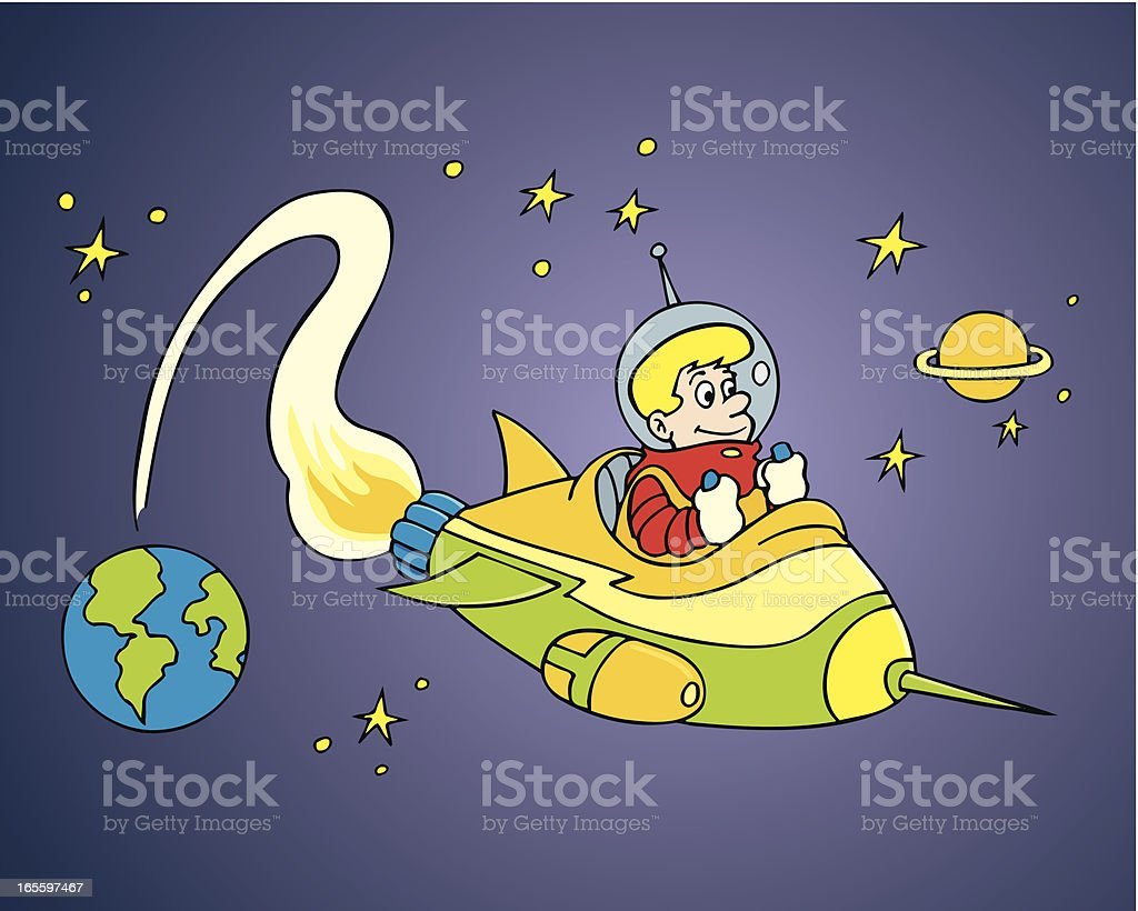 Spaceman royalty-free spaceman stock vector art & more images of astronaut