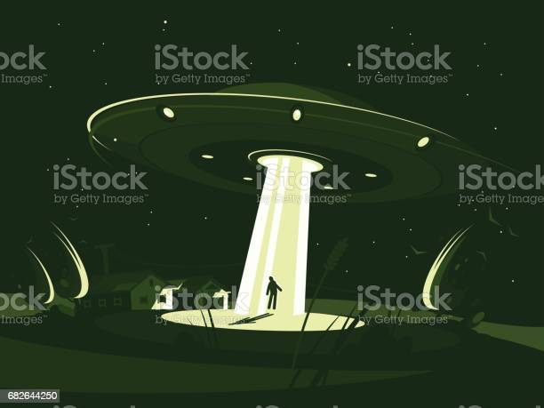 Spaceship abducts man vector id682644250?b=1&k=6&m=682644250&s=612x612&h=qxg ql9lobb  caq9upnfe9cg 8hrtgbj9mrimm b6c=