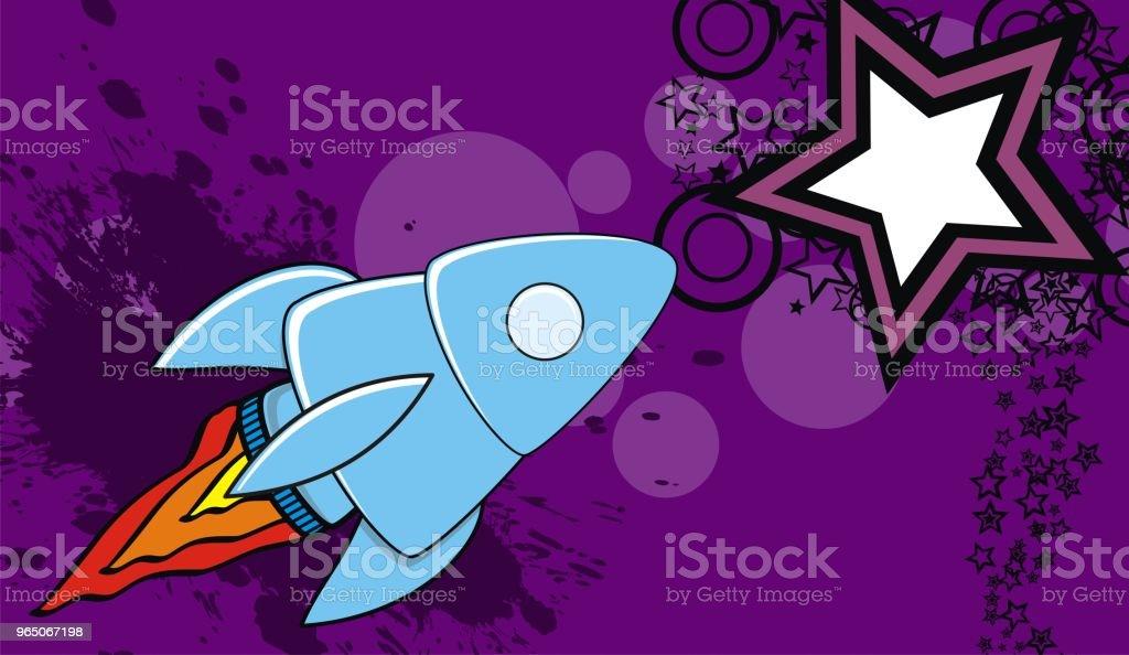 spaceship cartoon background3 spaceship cartoon background3 - stockowe grafiki wektorowe i więcej obrazów abstrakcja royalty-free