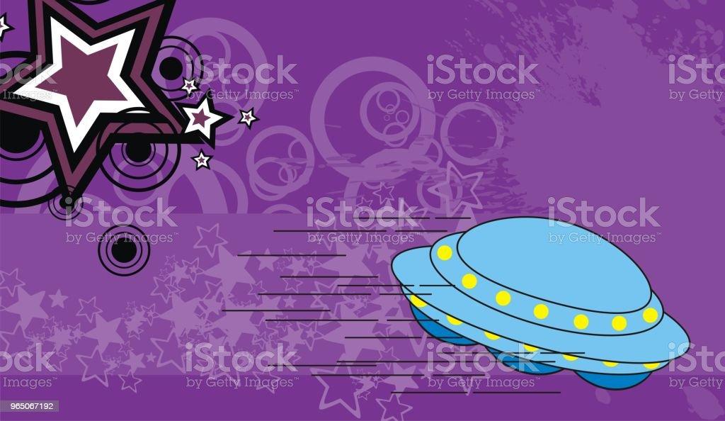 spaceship cartoon background4 spaceship cartoon background4 - stockowe grafiki wektorowe i więcej obrazów abstrakcja royalty-free