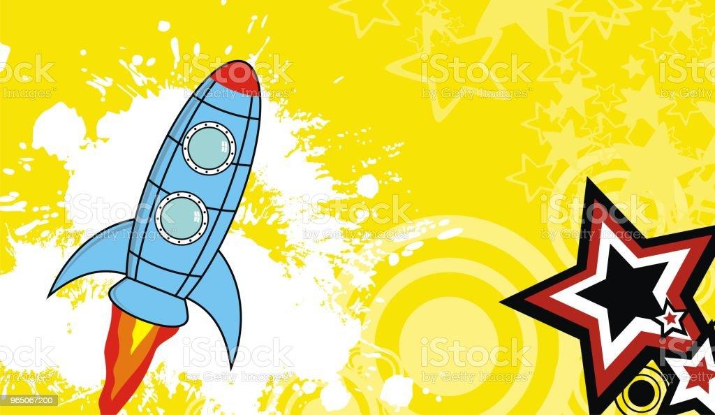 spaceship cartoon background5 spaceship cartoon background5 - stockowe grafiki wektorowe i więcej obrazów abstrakcja royalty-free
