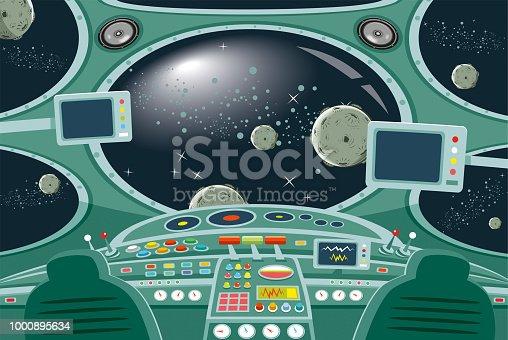 istock Spaceship interior 1000895634