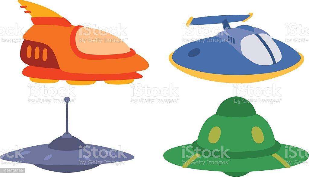 UFO spaceship vector isolated royaltyfri ufo spaceship vector isolated-vektorgrafik och fler bilder på affärsresa