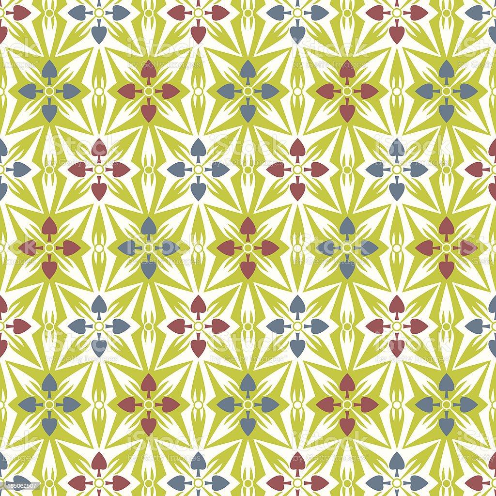 Spade Pattern (seamless) royalty-free stock vector art