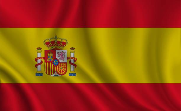 Fond de drapeau Espagne - Illustration vectorielle
