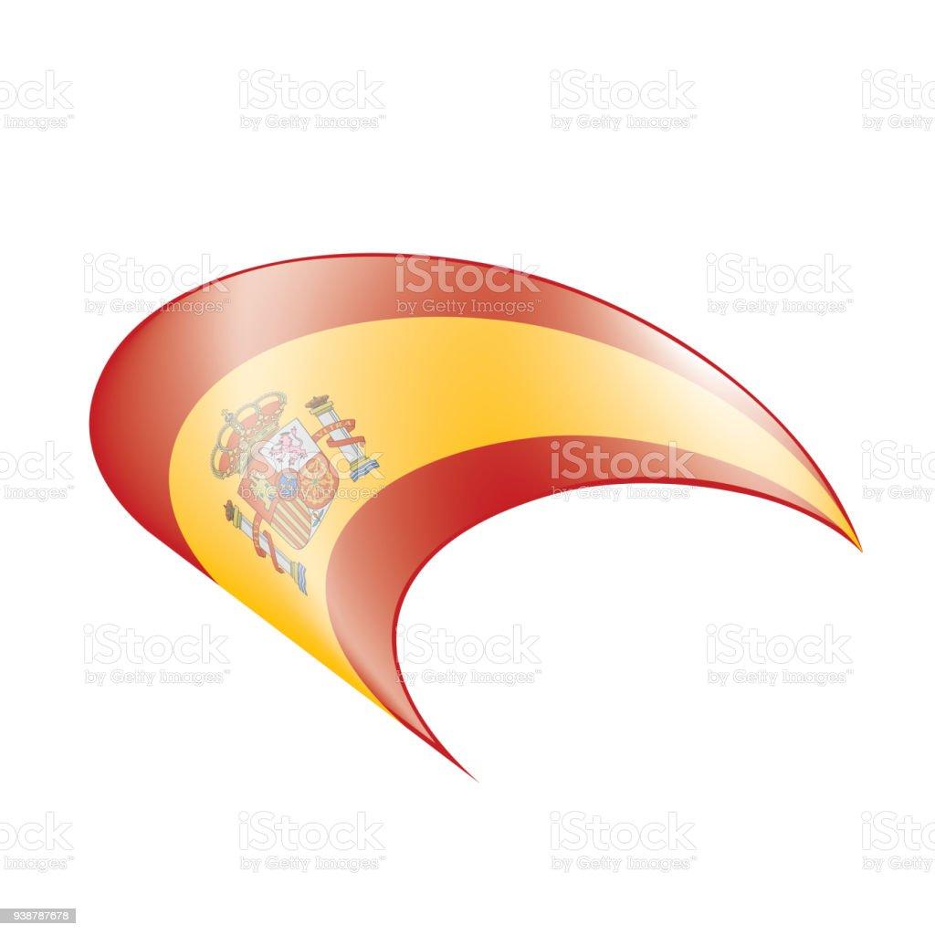 Spain Flag Vector Illustration Stock Vector Art More Images Of