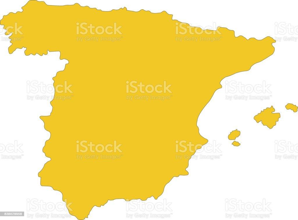 Carte De Lespagne Barcelone.Carte De Lespagne Vecteurs Libres De Droits Et Plus D Images
