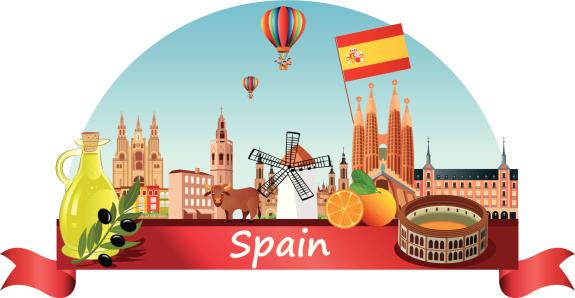 Spain Skyline