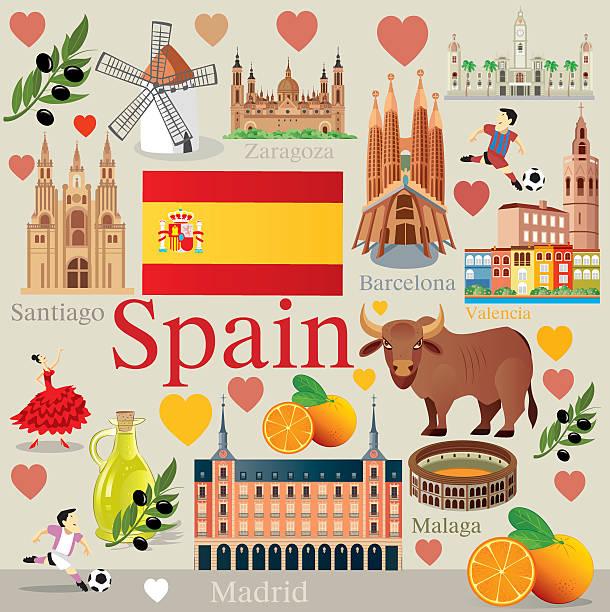 ilustrações de stock, clip art, desenhos animados e ícones de espanha viagens - ibiza