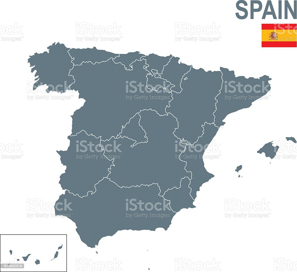 Spain vector art illustration