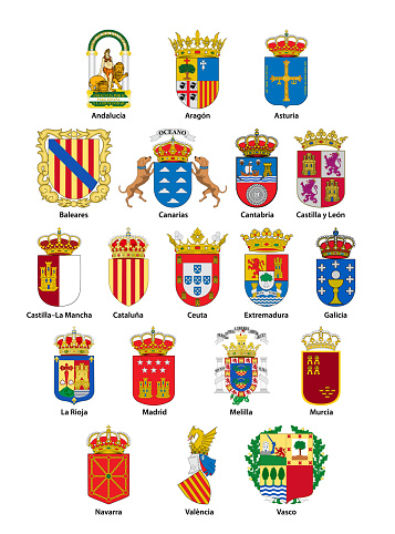 Spanish coats of arms