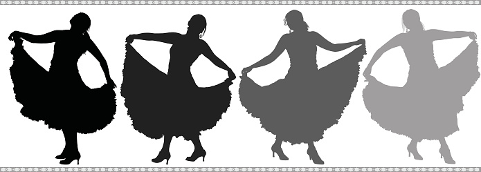 Spanish Dancers (Vector)
