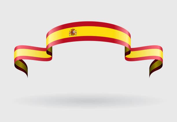Fond de drapeau espagnol. illustration vectorielle. - Illustration vectorielle