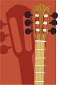 Spanish Guitar Closeup