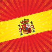 """This illustration is a background of the text for """"Spanish holiday""""."""