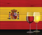 "This illustration is a background of the text for ""Spanish holiday""."