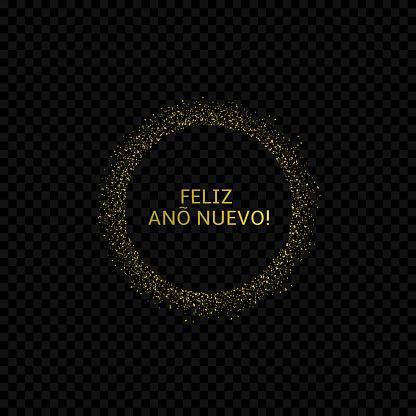 Spanish New Year label2
