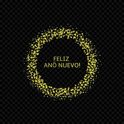 Spanish New Year label3
