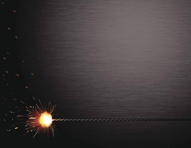 Spark Brushed Steel vector art illustration