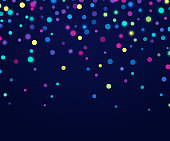 Sparkle glitter confetti confetti rainbow glow abstract background.