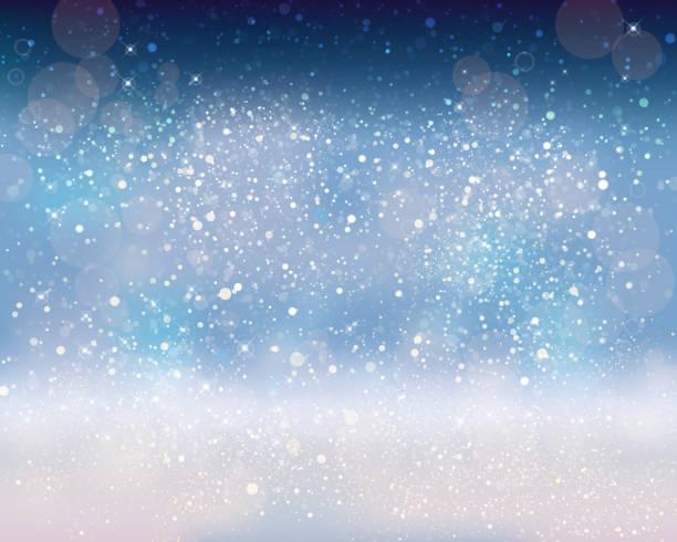 スペースの背景を輝き - 雪点のイラスト素材/クリップアート素材/マンガ素材/アイコン素材