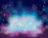 sparkles background of space