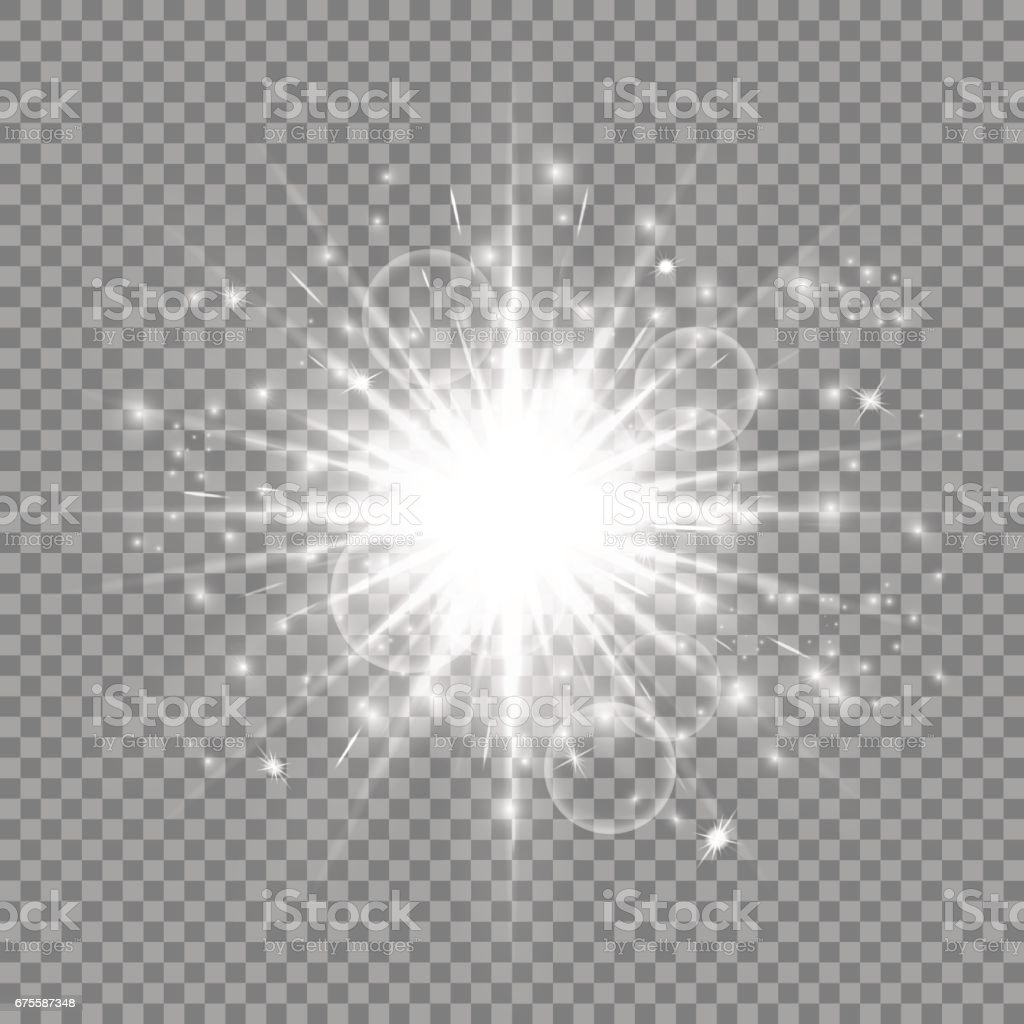 Sparkles silvery background vector art illustration