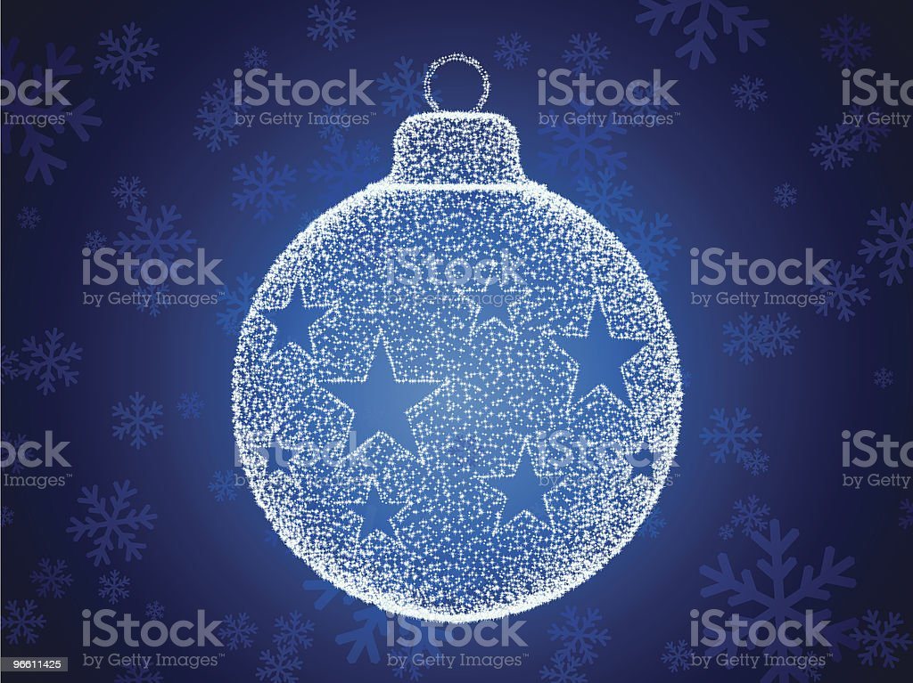sparkling bauble - Royalty-free Backgrounds stock vector