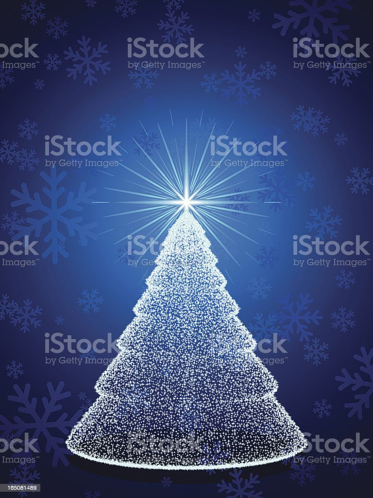 sparkling christmas royalty-free stock vector art