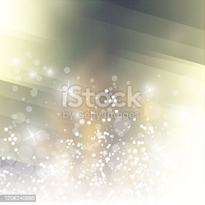 Abstract Colorful Modern Styled Blurry Background Design, Texture with Bokeh Effect in Editable Vector Format