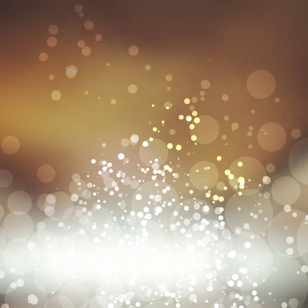 Sparkling Cover Design Template with Abstract Blurred Background Abstract Colorful Modern Styled Blurry Background Design, Texture with Bokeh Effect in Editable Vector Format color intensity stock illustrations
