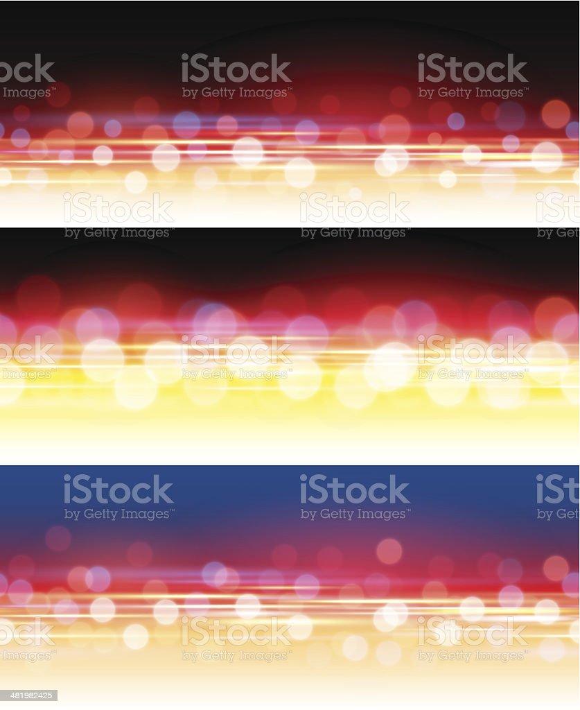 Sparkling light backgrounds royalty-free stock vector art