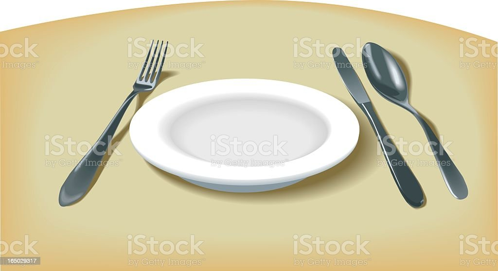 Sparkling place setting royalty-free sparkling place setting stock vector art & more images of breakfast