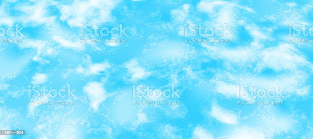 Glitzernden Wasseroberfläche - Lizenzfrei Abstrakt Vektorgrafik