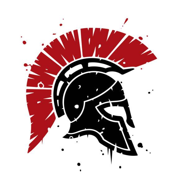 Spartanhelm – Vektorgrafik