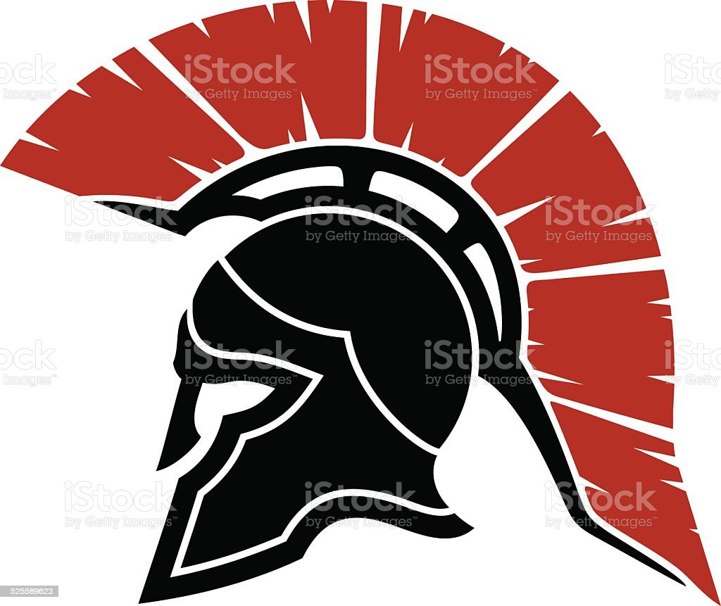 royalty free traditional helmet clip art vector images