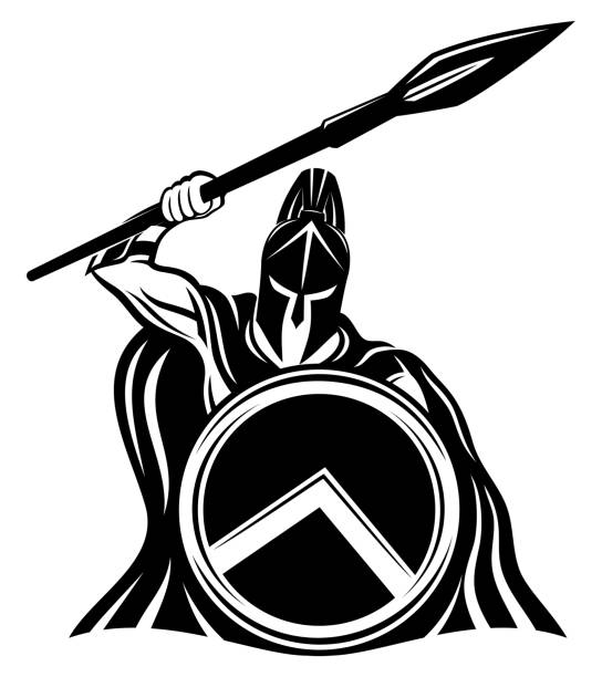 What Is Sts Survival Tactical Systems Gop Logo Stars - Spartan Shield Logo  Clipart - Full Size Clipart (#1671794) - PinClipart