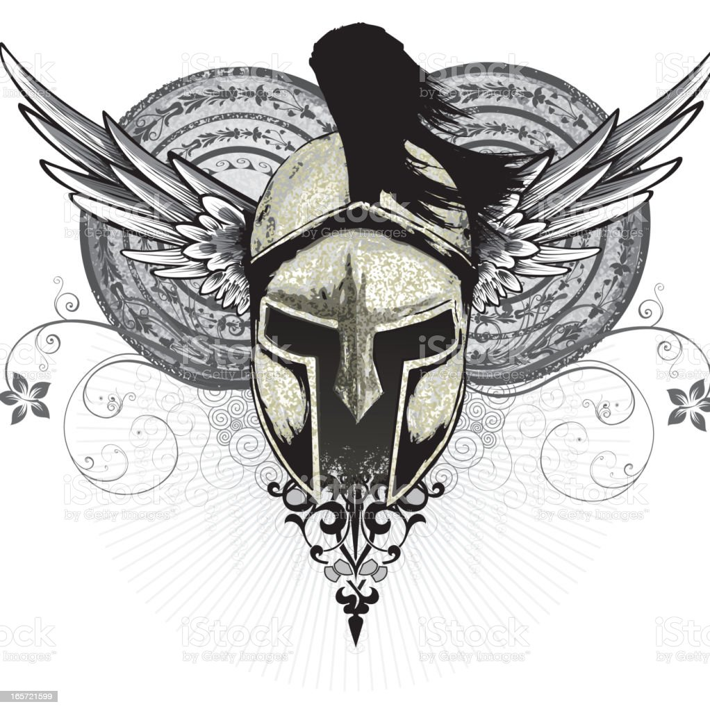 Spartan royalty-free stock vector art