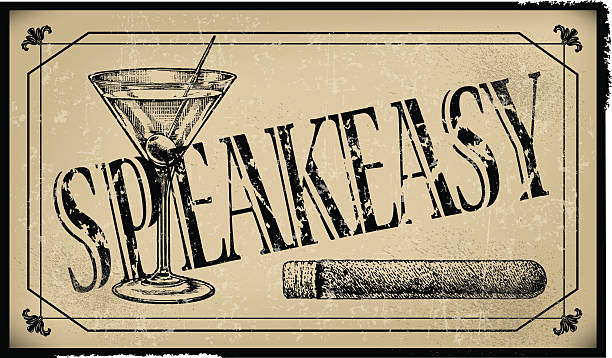 Best Speakeasy Illustrations, Royalty-Free Vector Graphics