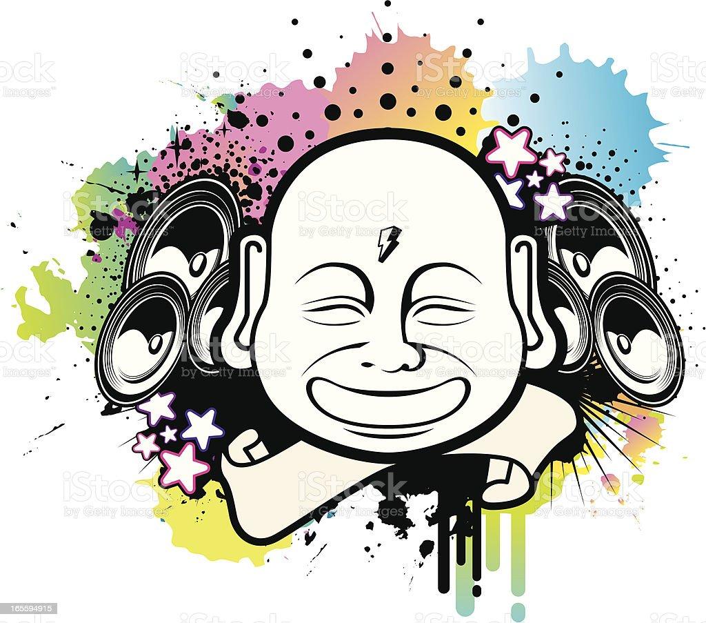 Buda de altavoz ilustración de buda de altavoz y más banco de imágenes de buda libre de derechos