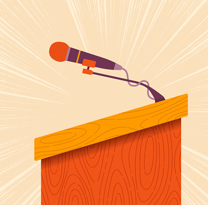 Speaker Dais or Lectern