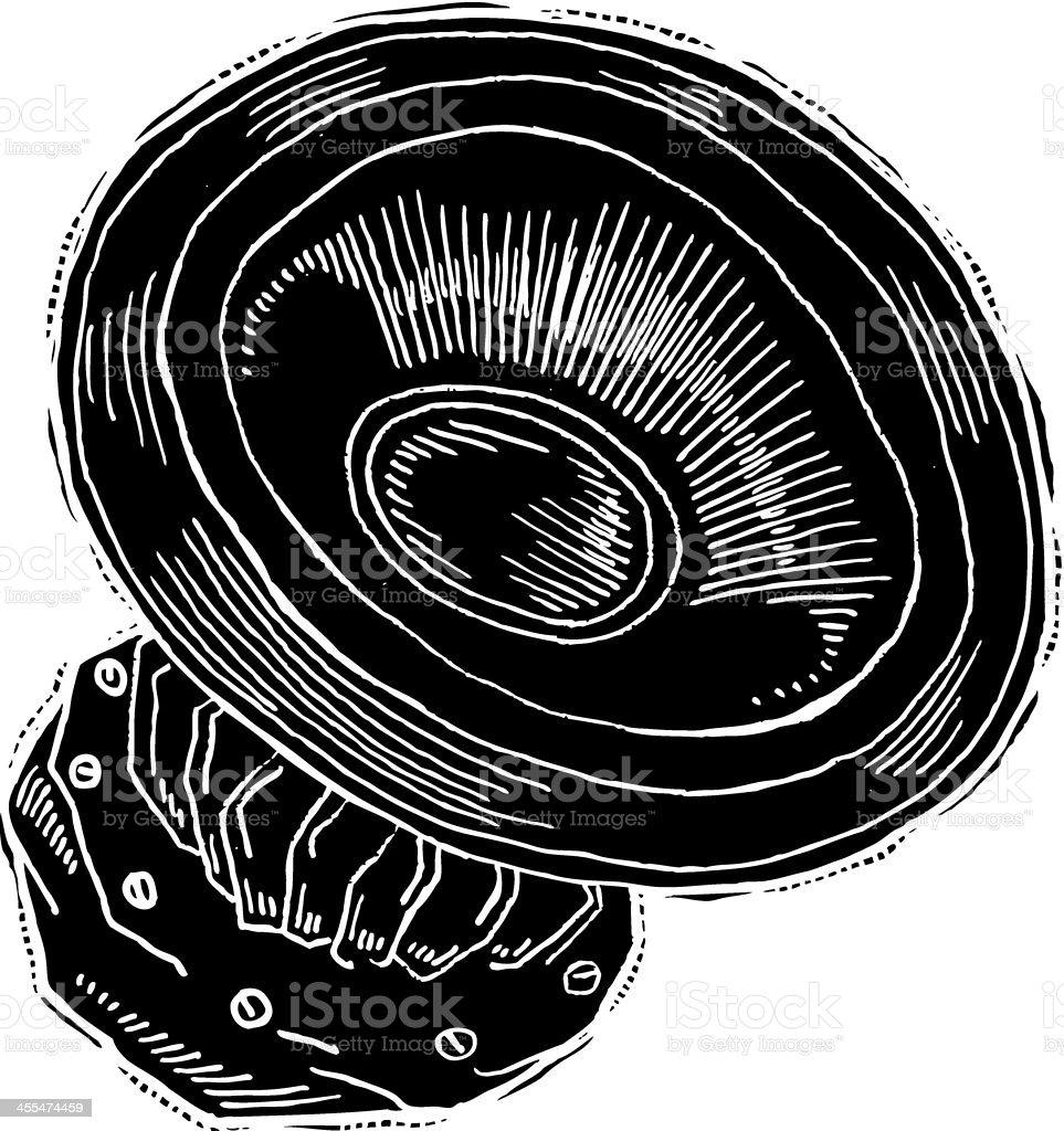 Speaker reverse ink royalty-free speaker reverse ink stock vector art & more images of abstract