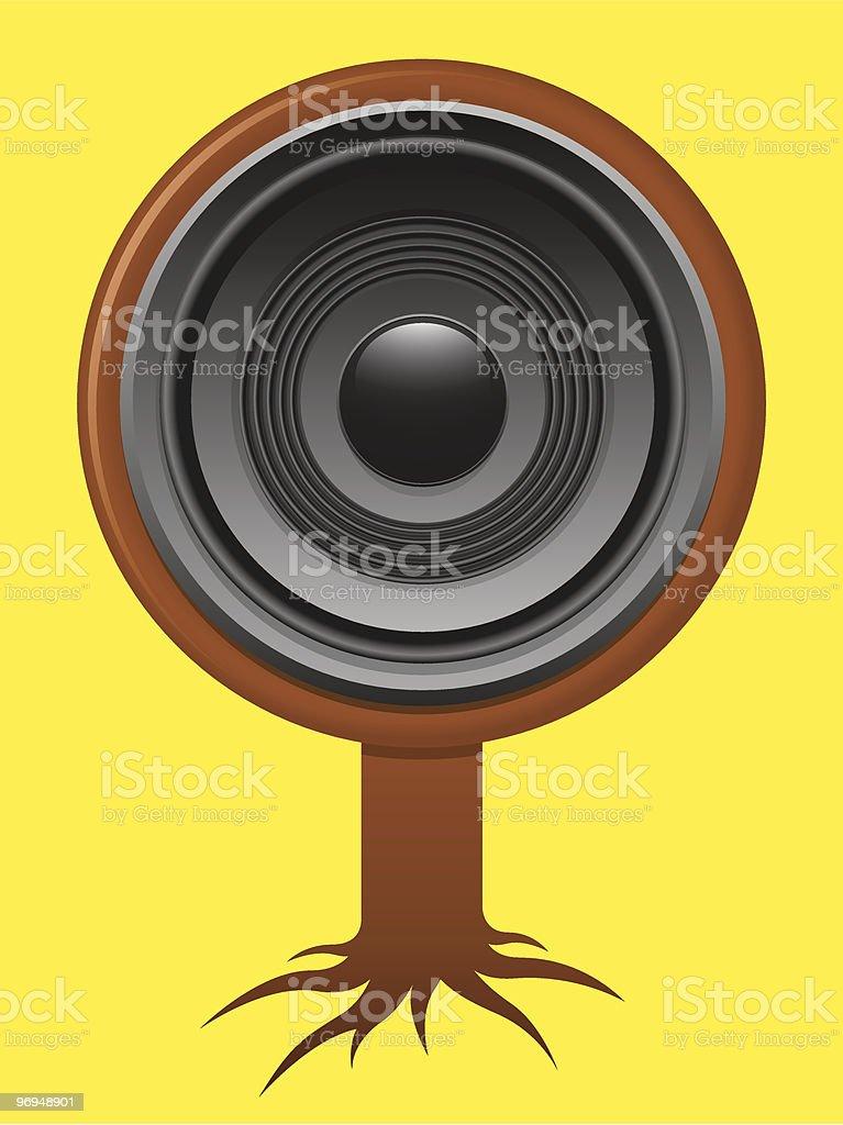 Speaker tree royalty-free speaker tree stock vector art & more images of audio equipment