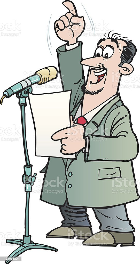 Speaker royalty-free speaker stock vector art & more images of adult