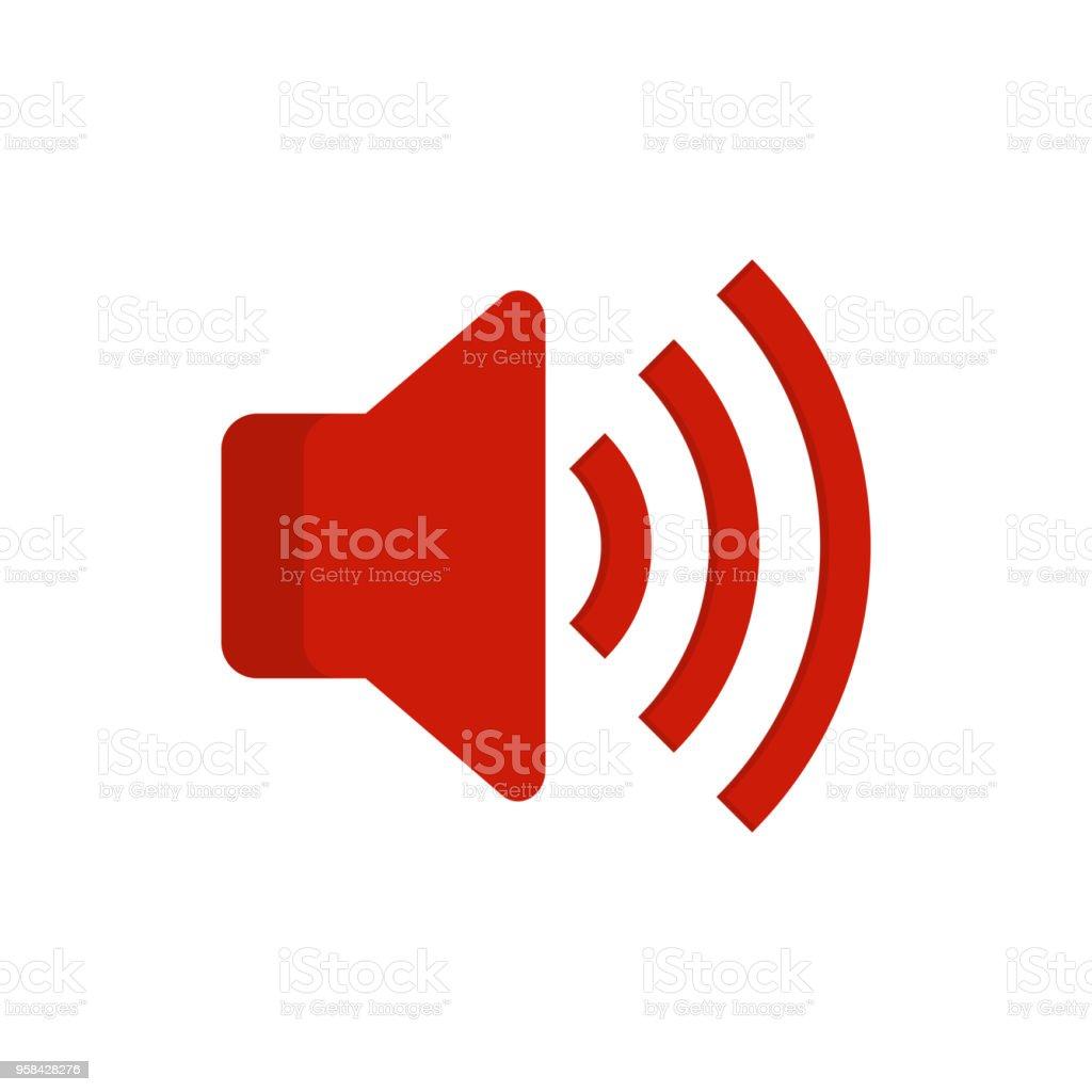 Speaker Volume Icon Audio Voice Sound Symbol Media Music Button