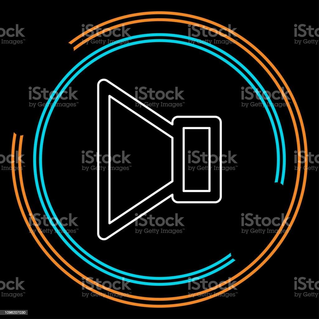 Speaker Volume Icon Audio Voice Sound Symbol Stock