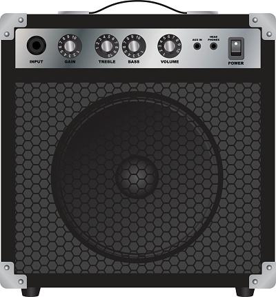 Speakers for Electric Guitar. Combo amplifier. Guitar amplifier.