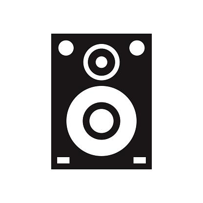 Speakers Glyph Icon