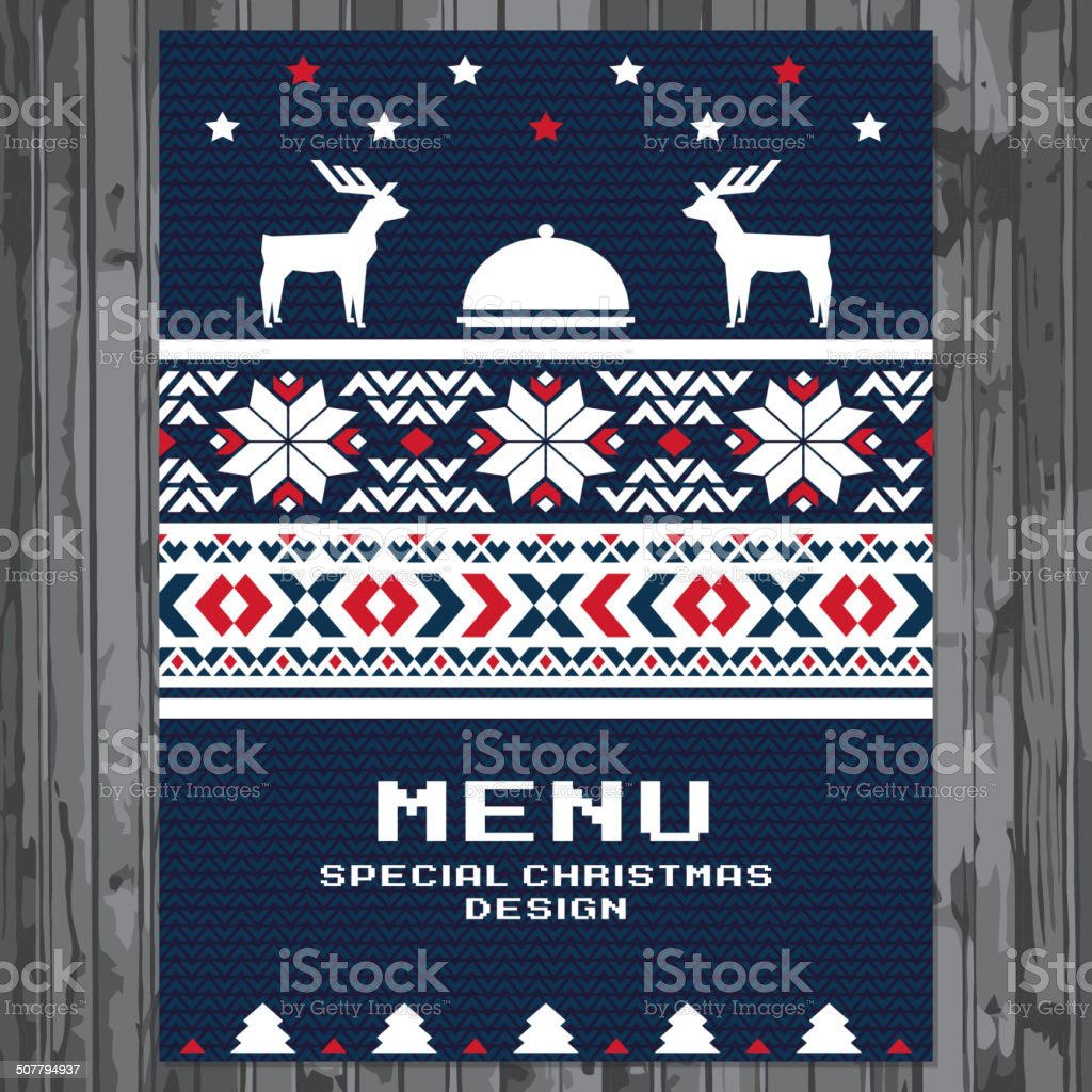 Special Christmas festive menu design royalty-free special christmas festive menu design stock vector art & more images of brochure